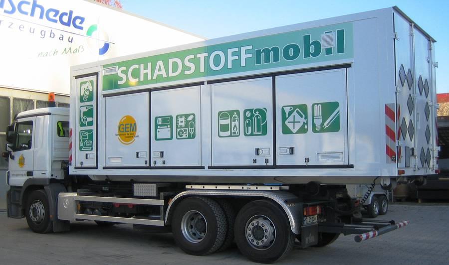 Container Sattelanhänger Dünschede Fahrzeugbau Gmbh Co Kg